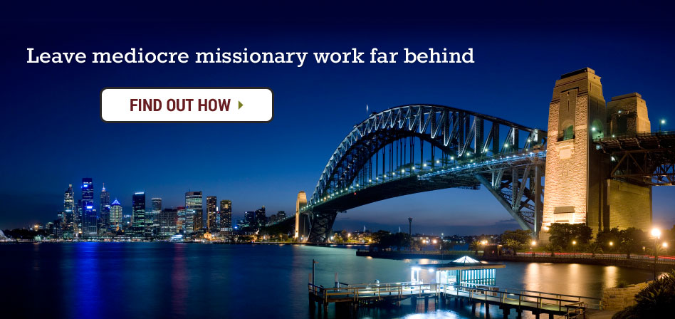 Sydney Harbour Bridge, Australia Sydney Mission