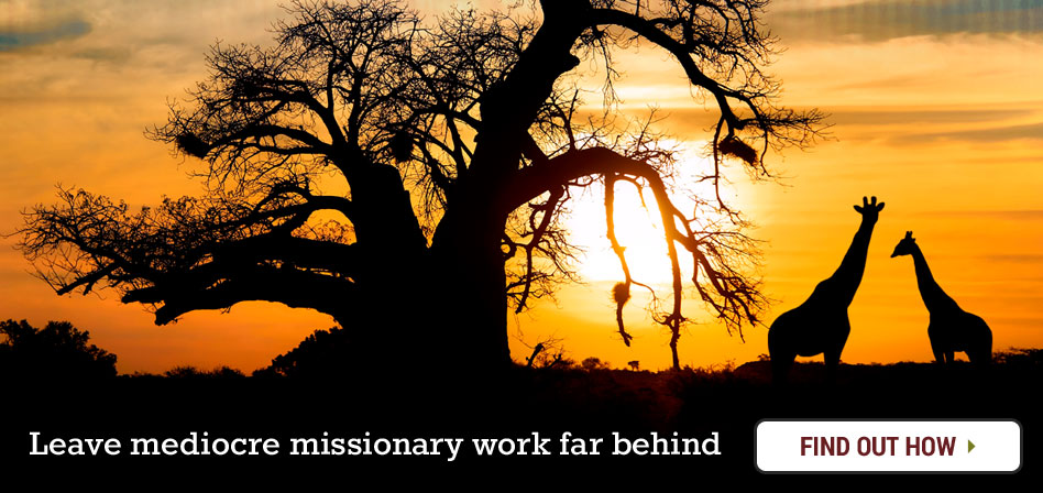 African Sunset, Zimbabwe Harare Mission